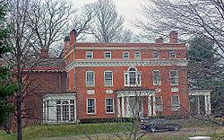 red brick school