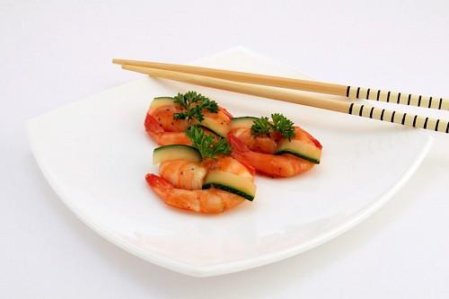 three-shrimp