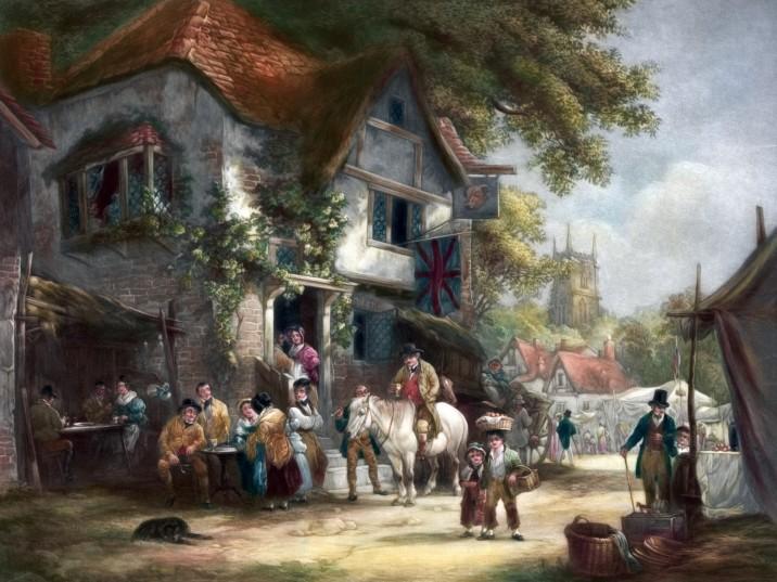 village-festival-painting