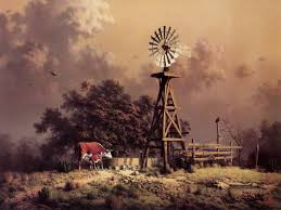 shack-with-fence-and-windmills