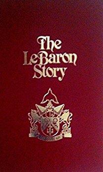 Lebaron story, maroon cover
